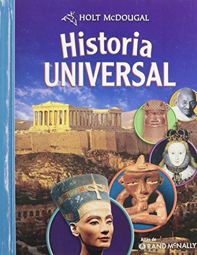 9780547034553: McDougal Littell Middle School World History: Student's Edition, Spanish Grades 6-8 2009 (Spanish Edition)
