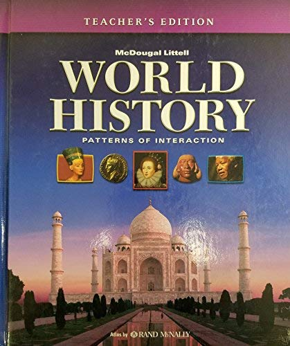 9780547034782: World History: Patterns of Interaction, Teachers Edition