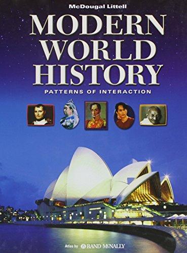 9780547034997: World History: Patterns of Interaction: Student Edition Modern World History 2009