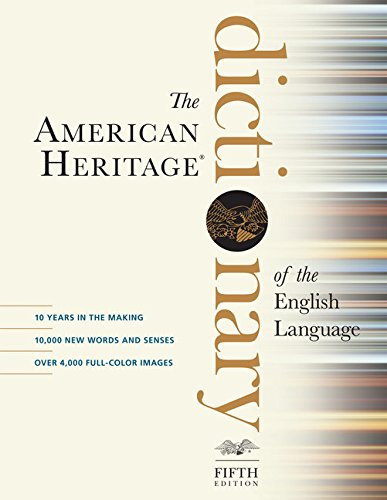 The American Heritage Dictionary of the English Language, Fifth Edition (0547041012) by American Heritage Dictionaries, Editors of the