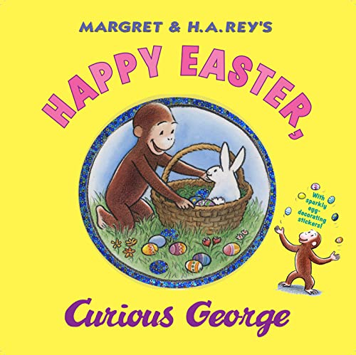 9780547048253: Happy Easter, Curious George [With Sticker(s)]