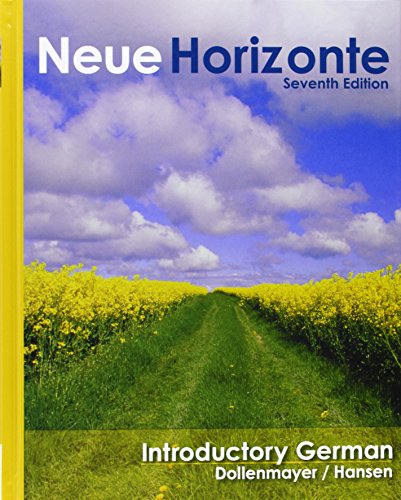 Neue Horizonte: A First Course in German Language and Culture Plus CD