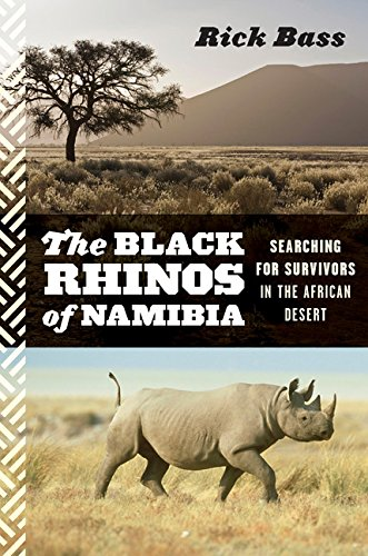9780547055213: The Black Rhinos of Namibia: Searching for Survivors in the African Desert