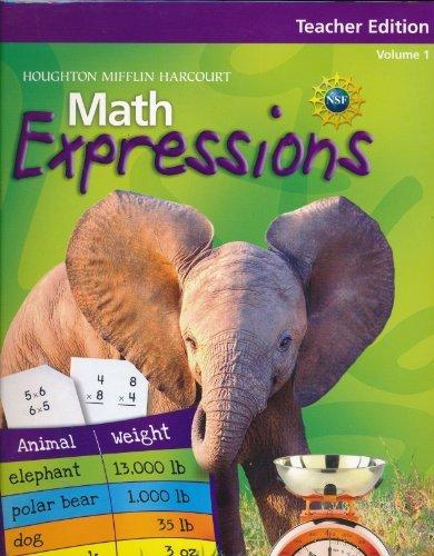 9780547057088: Math Expressions: Teacher Edition, Level 1, Vol 1 2009
