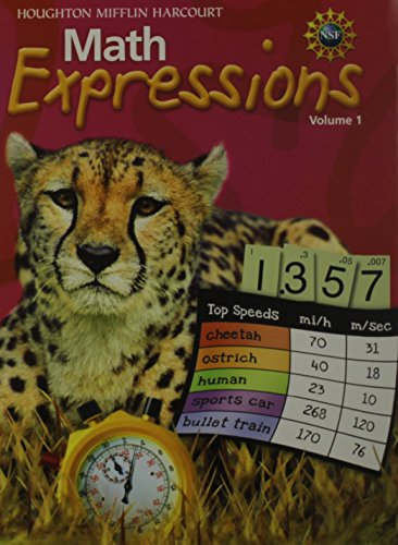 Math Expressions: Student Activity Book (Hardcover) Set Level 5 2009: MIFFLIN, HOUGHTON