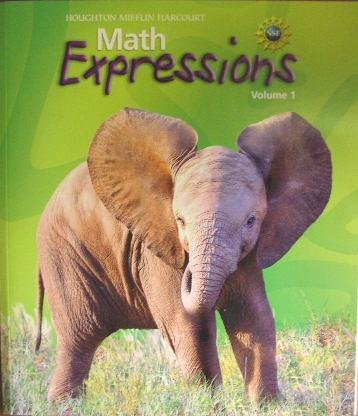 9780547066806: Math Expressions: Homework And Remembering Consumable Volume 1 Level 3