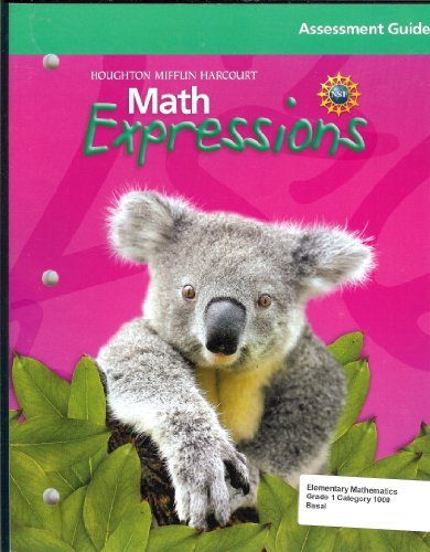 9780547067001: Math Expressions: Assessment Guide Grade 1