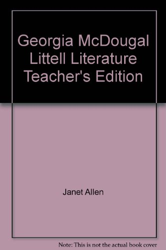McDougal Littell Literature Teachers Edition: Janet Allen