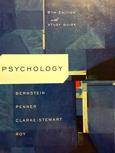 9780547079769: Psychology, 8th Edition with Study Guide