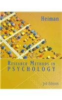 Heiman Research Methods Third Edition Plus Perrin Pocket Guide To Apasecond Edition (0547080050) by [???]