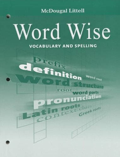 9780547083698: McDougal Littell Literature: Word Wise Student's EditionVocabulary and Spelling Grade 8