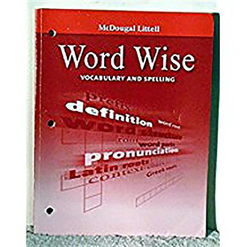 9780547083704: McDougal Littell Literature: Word Wise Student's EditionVocabulary and Spelling Grade 7