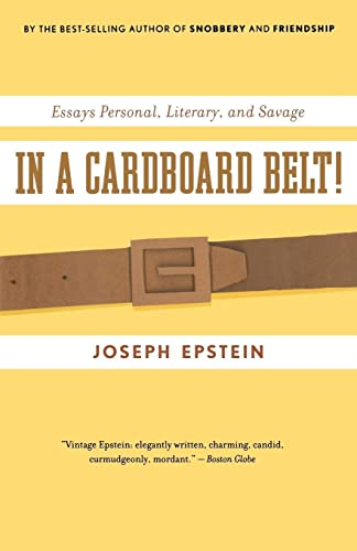 9780547085746: In a Cardboard Belt!: Essays Personal, Literary, and Savage