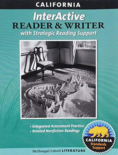 9780547102122: McDougal Littell Literature: The InterActive Reader and Writer with Strategic Reading Support Grade 8 CA