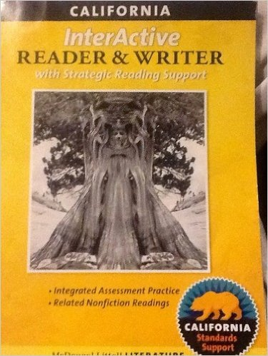 9780547102139: McDougal Littell Literature: The InterActive Reader and Writer with Strategic Reading Suppor Grade 6 CA
