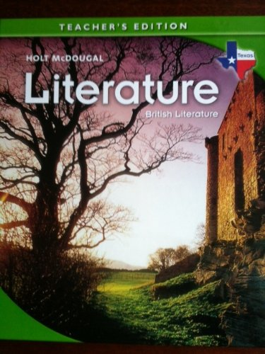 9780547115863: British Literature (Texas) (Teacher's Edition) (Holt McDougal Literature for Texas)