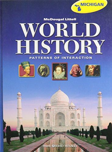 9780547117881: McDougal Littell World History: Patterns of Interaction, Grades 9-12 (Michigan)