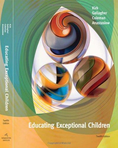 9780547124131: Educating Exceptional Children