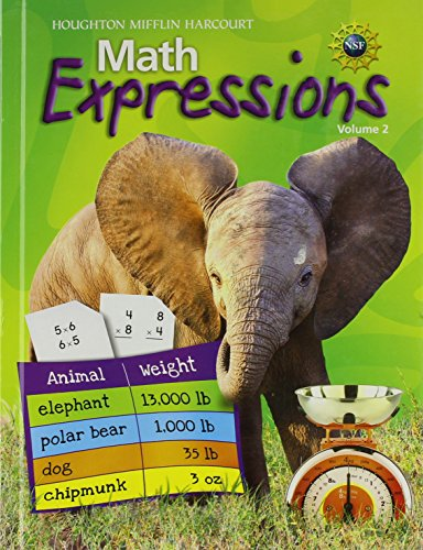9780547124988: Math Expressions: Student Activity Book Hardcover Level 3 Volume 2 2009