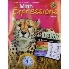 9780547125046: Math Expressions: Student Activity Book Hardcover Level 5 Volume 2 2009