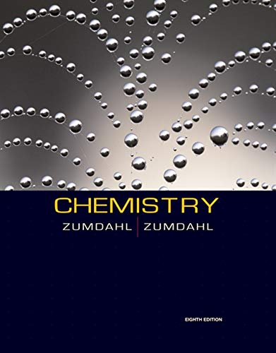 Chemistry (Available 2010 Titles Enhanced Web Assign): Zumdahl, Steven S.;