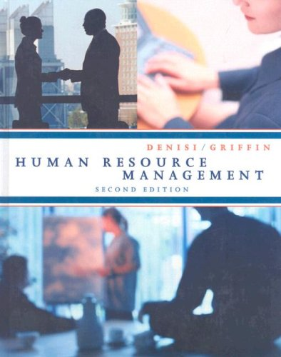 9780547126227: Denisi Human Resource Management Second Edition At New For Used Price