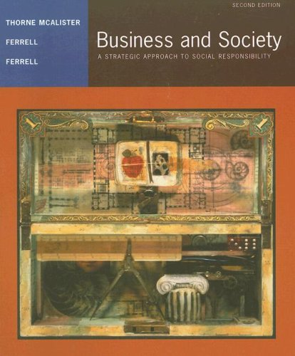 9780547126258: Thorne Business And Society Second Edition At New For Used Price