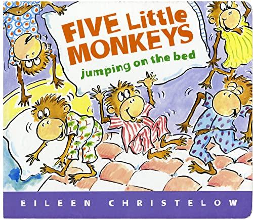 9780547131764: Five Little Monkeys Jumping on the Bed Lap Board Book (A Five Little Monkeys Story)