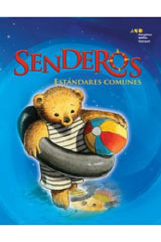 9780547132211: Senderos Estándares Comunes: Little Big Book Grade K Tortugas, ¡al agua! (Unit 3, Book 14) (Spanish Edition)
