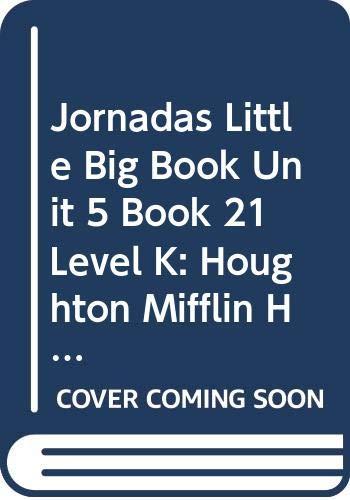 9780547132396: Senderos: Little Big Book Grade K Buenos amigos (Spanish Edition)
