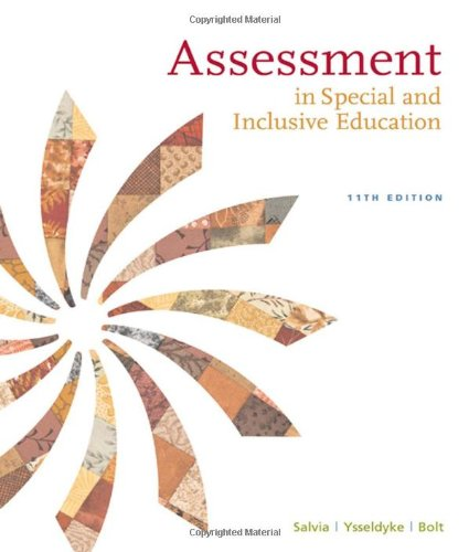 9780547134376: Assessment: In Special and Inclusive Education