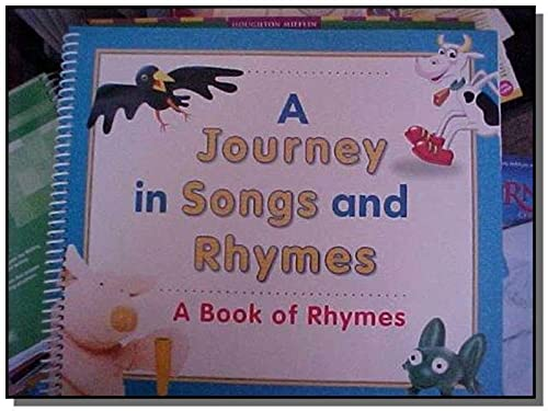 9780547135793: Journeys: A Journey In Songs and Rhymes Big Book Grade K Higgely Piggely