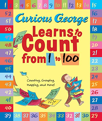 9780547138411: Curious George Learns to Count from 1 to 100