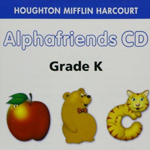 Houghton Mifflin Harcourt Alphafriends CD Grade K