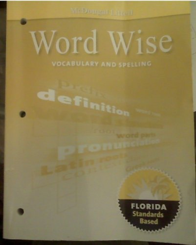 9780547141053: McDougal Littell Literature: Word Wise: Vocabulary and Spelling Workbook Grade 06