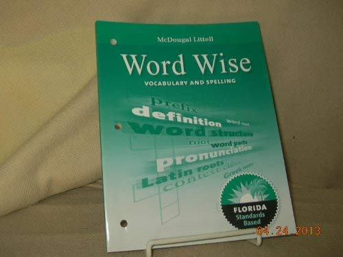 9780547141114: McDougal Littell Literature: Word Wise: Vocabulary and Spelling Workbook Grade 08