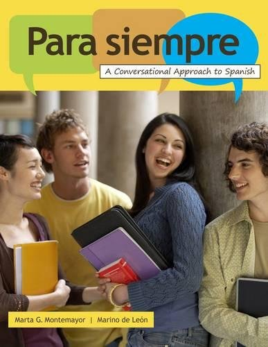 9780547142395: Para siempre: A Conversational Approach to Spanish (World Languages)
