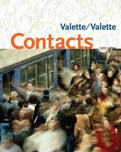 Bundle: Contacts: Langue et culture françaises, 8th: Jean-Paul Valette/ Rebecca