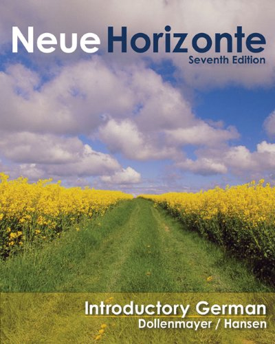 9780547144818: Bundle: Neue Horizonte: Introductory German, 7th + In-text Audio CD + Student Activities Manual