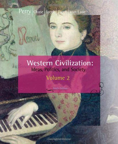 9780547147468: Western Civilization: Ideas, Politics, and Society, Volume II: From 1600