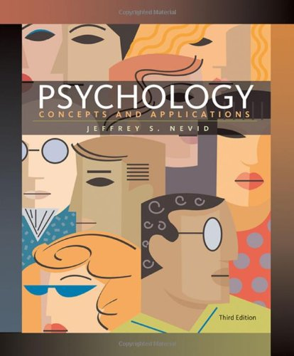 9780547148144: Psychology: Concepts and Applications (Available Titles CengageNOW)