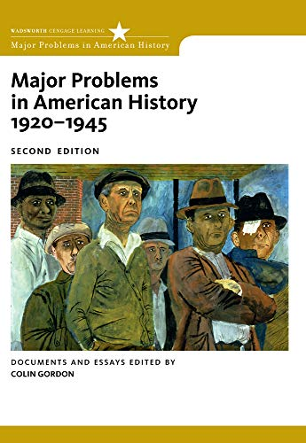 9780547149059: Major Problems in American History, 1920-1945: Documents and Essays (Major Problems in American History Series)