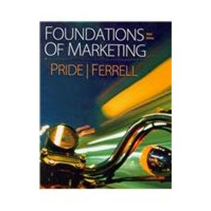 9780547154565: Pride Foundations Of Marketing Plus Businesspace Web Booklet Forpackages Third Edition