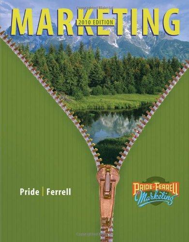 Marketing: William M. Pride, Ferrell