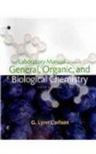 9780547167930: Lab Manual for Stoker's General, Organic, and Biological Chemistry, 5th