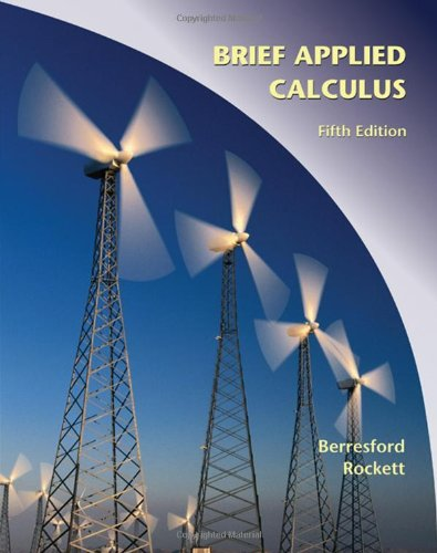 9780547169774: Applied Calculus, Brief (Available 2010 Titles Enhanced Web Assign)