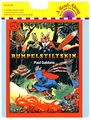9780547181813: Rumpelstiltskin Book & CD