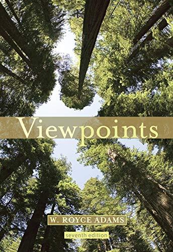 Viewpoints, 7th Edition: Adams, W. Royce