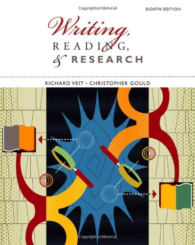 9780547191041: Writing, Reading, and Research