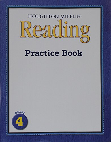 9780547195292: Houghton Mifflin Medallions California: Practice Book Consumable Volume 1 Grade 4